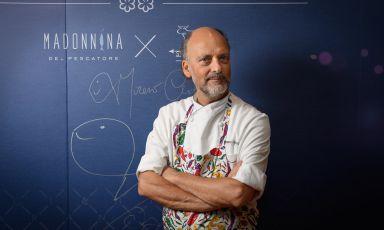 Il nuovo menu di Moreno Cedroni alla Madonnina del Pescatore è una bomba