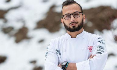 Giovanni D'Alitta di Lavell (Potenza), chef della Stube Hermitage di Madonna di Campiglio (Trento), una stella Michelin (fotostubehermitage.it)