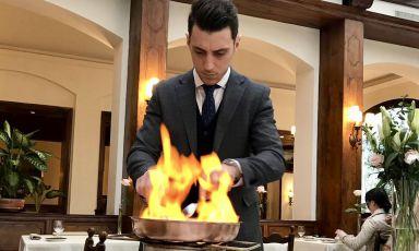 Sabatini e il fascino della cucina flambé