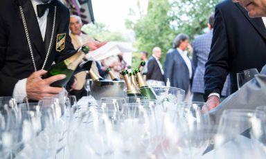 Tuffarsi in Un Mare di Champagne