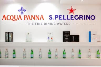 Lo stand di Acqua Panna e S.Pellegrino a Identità Milano 2013