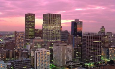 Le mille luci di Johannesburg