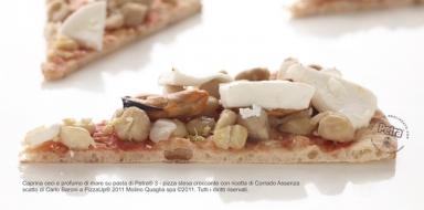 Caprina ceci e profumi di mare su pasta di Petra® 3 - Scatto di Carlo Baroni
