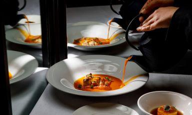 """La Bouillabaisse """"Omaggio a Gerard Passedat"""": il piatto della ripartenza dello chef Daniele Usai"""