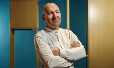 Alfio Ghezzi, chef del ristorante Senso, Alfio Ghezzi, 1 stella Michelin, a Rovereto (Trento). FotoJacopo Salvi