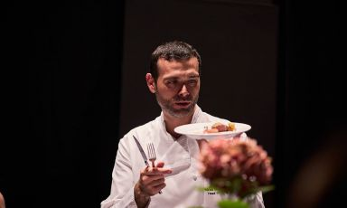 Apulian Andrea Camastra, 38, is the chef at restau