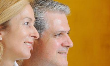 Dopo essersi conosciuti all'Alberghiero, e dopo alcuni anni in cui hanno lavorato separatamente, Michela Berto e Raffaele Ros hanno unito le forze e trasformato un'antica osteria e trattoria di paese in un ristorante di cucina d'autore