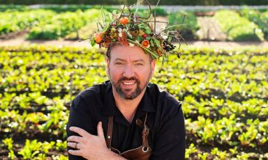 South African chef Bertus Basson (photo Instagr