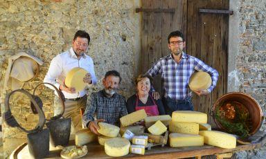 I Gortani alla Malga Pozof, la meraviglia dei veri formaggi di Carnia