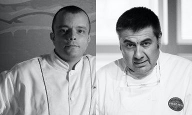 Francesco Bracali, Simone Fracassi e la grande carne toscana in via Romagnosi