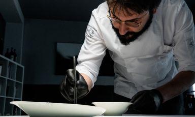 Jacopo Malpeli, parmense classe 1982, è lo chef d