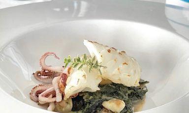 Ma che meraviglia il calamaro maritato (con la torzella) del San Pietro a Torre del Greco