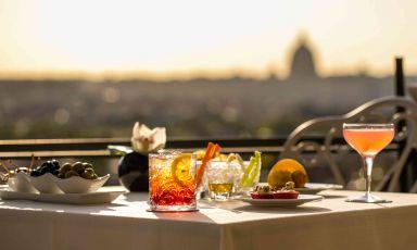 Terrazze, giardini, dehors e cortili... Così a Roma (ri)nasce la ristorazione en plein air