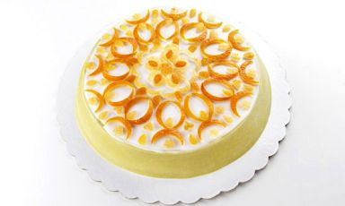 Corrado Assenza's Cassata, the emblem dish of the 2020 Congress, in a photo from Brambilla - Serrani