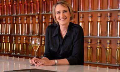 Julie Cavil, first female Chef de Cave at Maison Krug, presents the Grande Cuvée 168 with Olivier Krug
