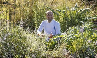 Thomas Papa, chef deLa Gallina, il ristorante del Villa Sparina Resorta Gavi