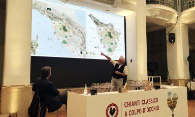 Chianti Classico, la mappa interattiva per gustare vini e territorio