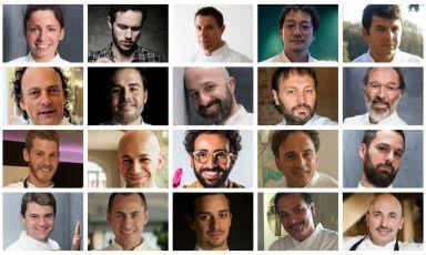 Un composit di molti degli chef (non tutti!) dai q