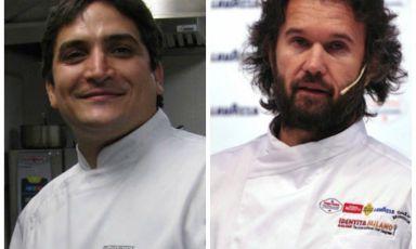 <p><b>Mauro Colagreco </b>e<b> Carlo Cracco</b></p>