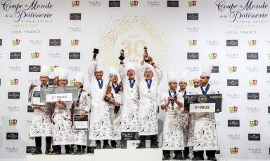 Italia sul podio alla Coupe du Monde de la Pâtisserie