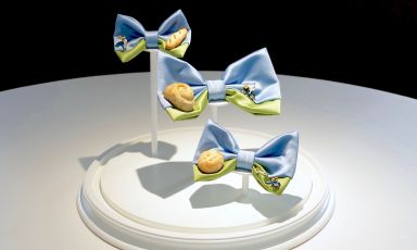Art and food... in a bow tie