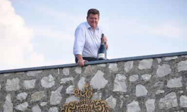 Silvano Brescianini, vice presidente esecutivo della cantina Barone Pizzini