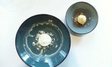 Polenta & Baccalà, originalissimo dessert propost