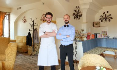 Up on the Altopiano: what's it like to dine at Alessio Longhini's
