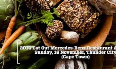 The entire South African gastronomic scene met on November 16th at the Thunder City in Cape Town, for the latest edition of the prize organized by Eat Out magazine