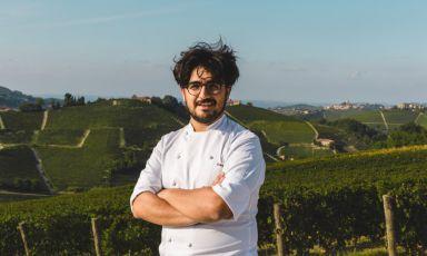 Lo chef di Borgo Sant'Anna, a Monforte d'Alba (Cuneo). Pasquale Laera è stato il sous chef di Antonino Cannavacciuolo a Villa Crespi