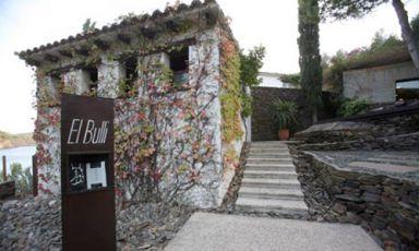 L'ingresso del ristorante El Bulli a Roses: ha cessato la sua attività il 30 luglio del 2011