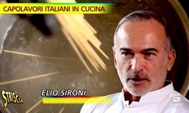 Elio Sironi: stregare Milano con gli spaghetti al pomodoro