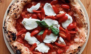 L'Extra Regina di Andrea Godi, pizzaiolo di400 Gradia Lecce