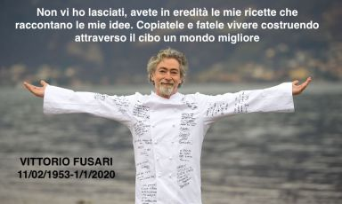 Le Maschere e il Volto: Vittorio Fusari nelle pagine della cucina italiana