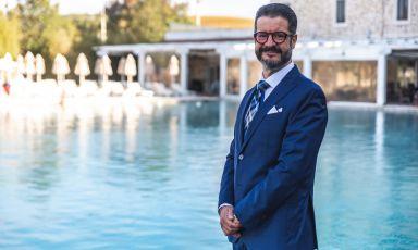 Fabio Datteroni, direttore generale delTerme di SaturniaResort, indirizzo localitàFollonata, Saturnia aManciano (Grosseto)