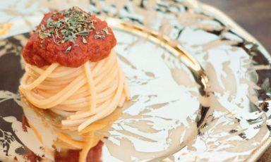 IPomodori agli spaghetti di Pierluigi Fais delristoranteJostodi Cagliari