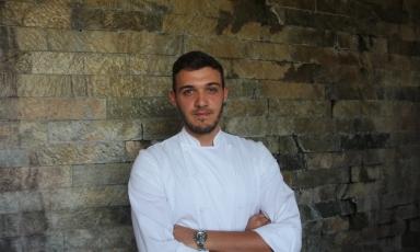 Luca Ferrari, sous-chef del ristoranteI Fontanilidi Gallarate (Varese)