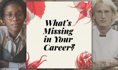«Cosa manca nella tua carriera?»: il sondaggio di S.Pellegrino Young Chef