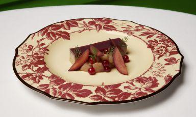 Foie Terrine con melograno: la ricetta dell&#39