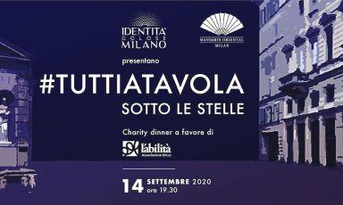 #TUTTIATAVOLA sotto le stelle: Identità Golose Milano e Seta Mandarin Oriental insieme per una serata benefica