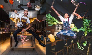 Chef al salto, raccontati in un click: l'Atomicus Project di Riccardo Melillo