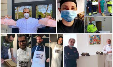 Chef e pandemia: 10 piccole storie di solidarietà ci dicono che ce la faremo