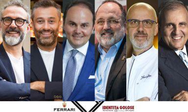 Lunedì torna Identità di Sala con Bottura, Buonocore, Lunelli, Marchi, Pepe e Giannuzzi