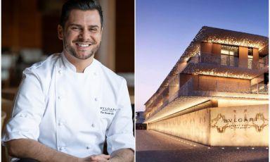 Seu al Bvlgari di Dubai: la grande pizza affianca la cucina di Romito