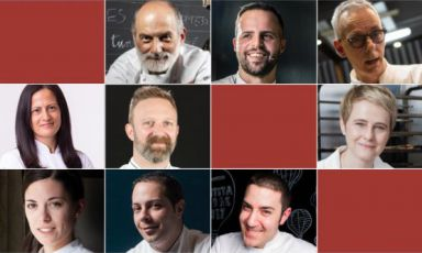 The nine speakers of Pasticceria italiana contemp