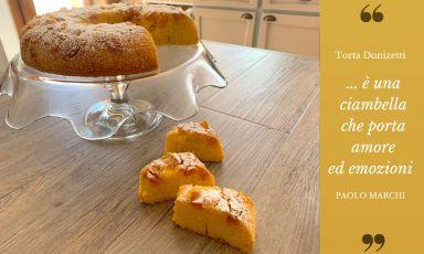 Vi raccontiamo la torta Donizetti, in omaggio al riscatto di Bergamo