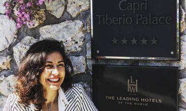 Francesca Tozzi, general manager del Capri Tiberio Palace, via Croce 11/15, Capri, Napoli