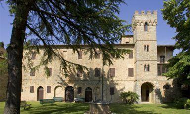 CastelGiocondo è la Tenuta di Montalcino della famiglia Frescobaldi