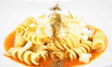 Fusilloni ad insalata di baccalà: la ricetta della rinascita di Francesco D'Angelo