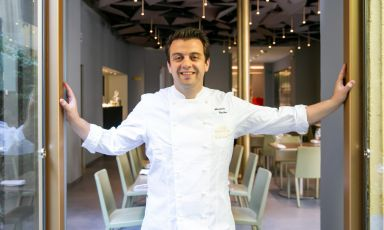 Alexandre Gauthier, born in 1979, is the chef at t